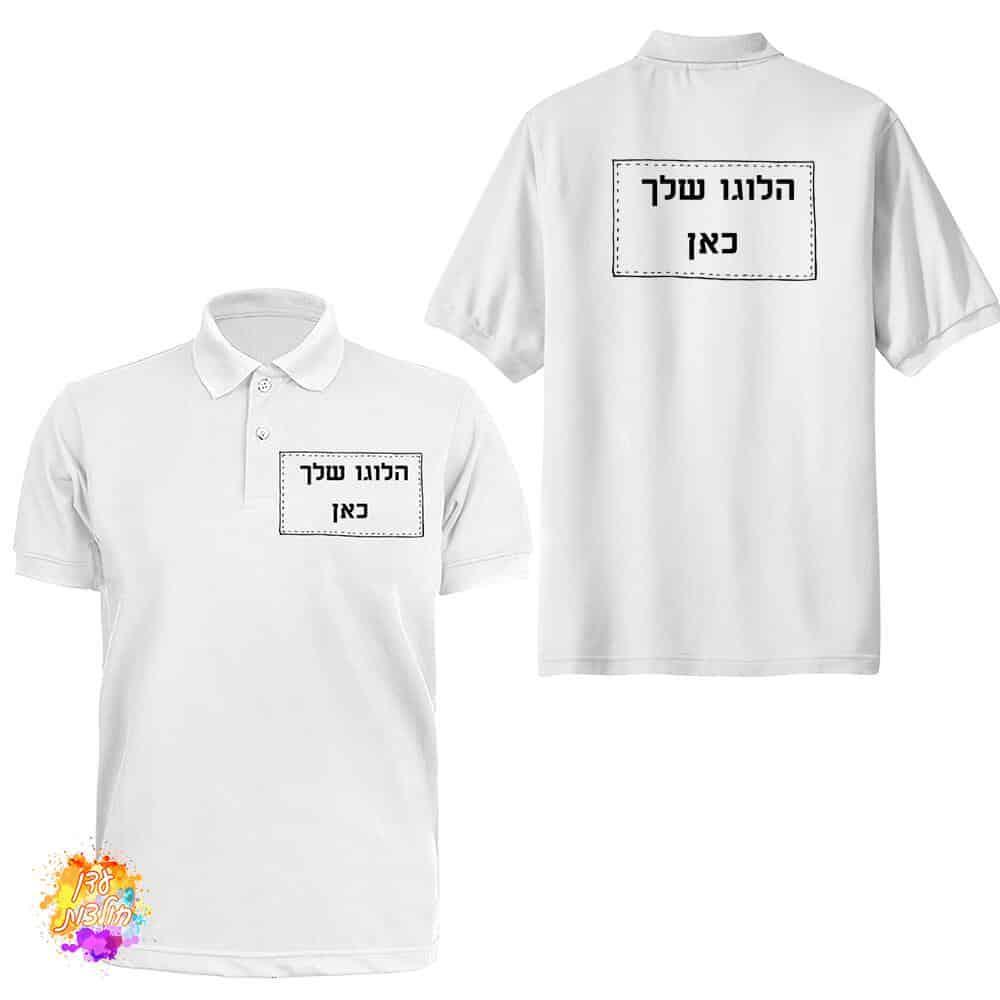לוגו על חולצות פולו תמונת מוצר